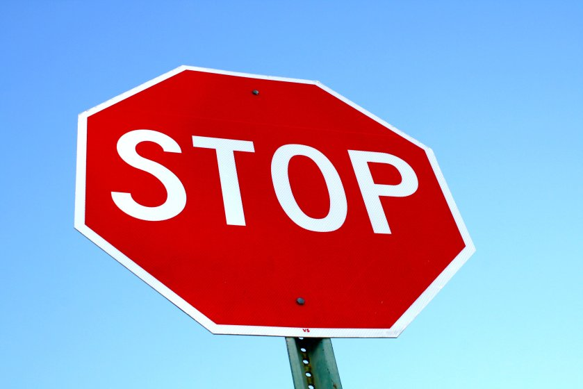 stop-sign-with-blue-sky
